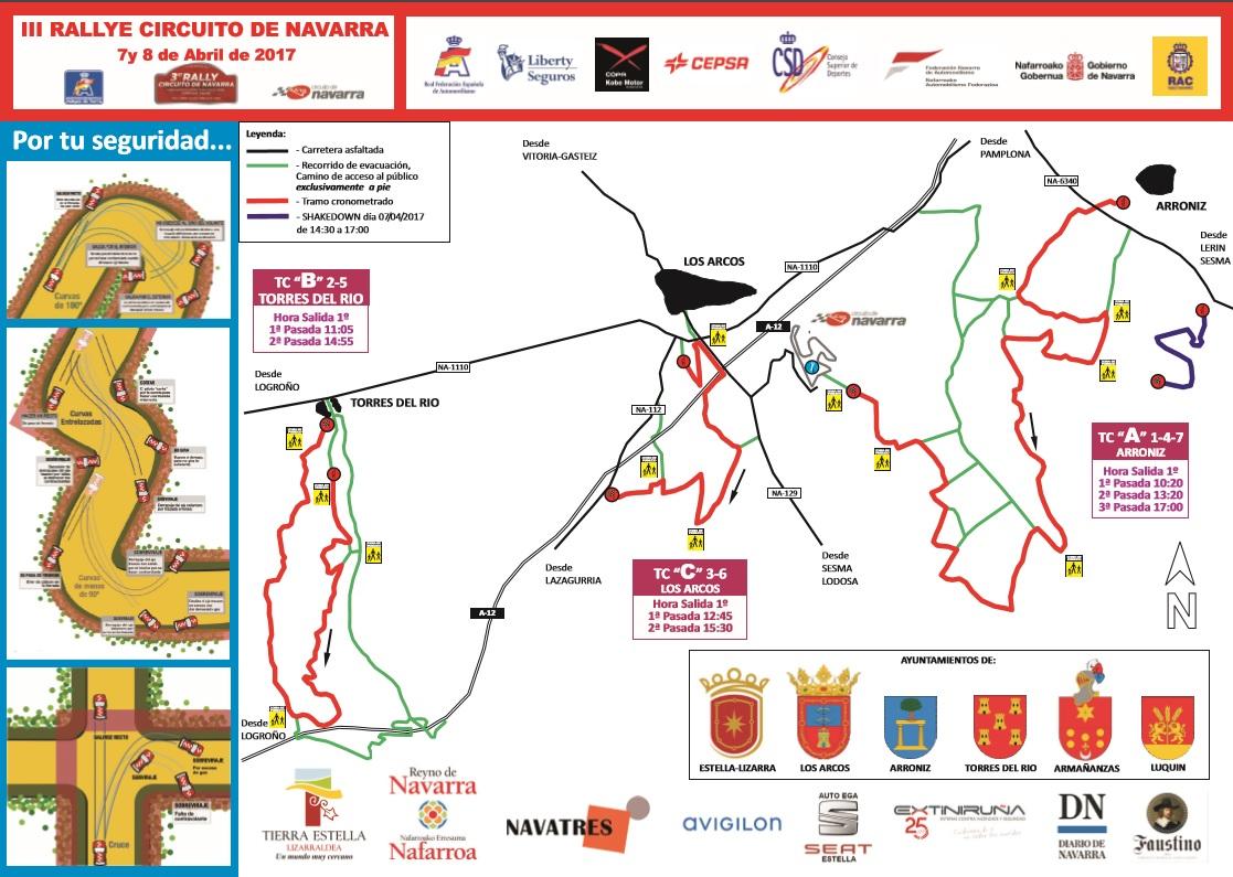 Circuito Los Arcos : Todo a punto en el circuito de navarra para acoger el nacional de