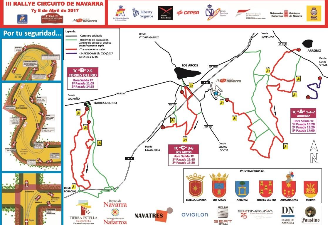 Circuito W Mapa : Todo a punto en el circuito de navarra para acoger el nacional de
