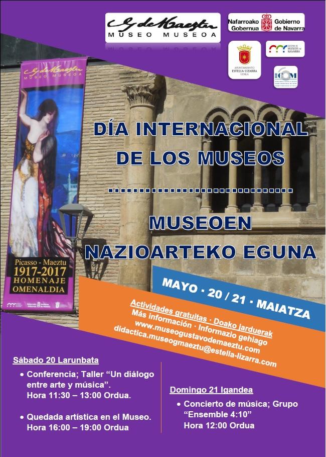 cartel 1 Dia Internacional Museos