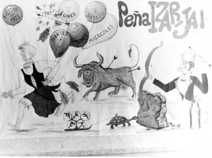 Pancarta Izar Jai 1973
