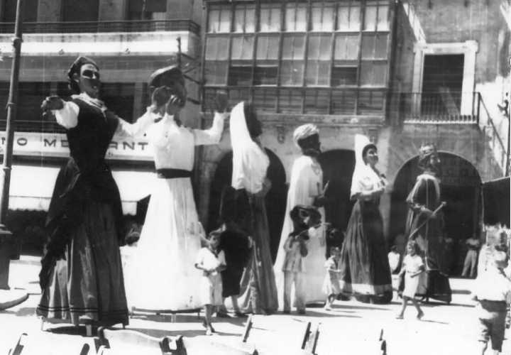 Fiestas 1947 Los 6 Gigantes
