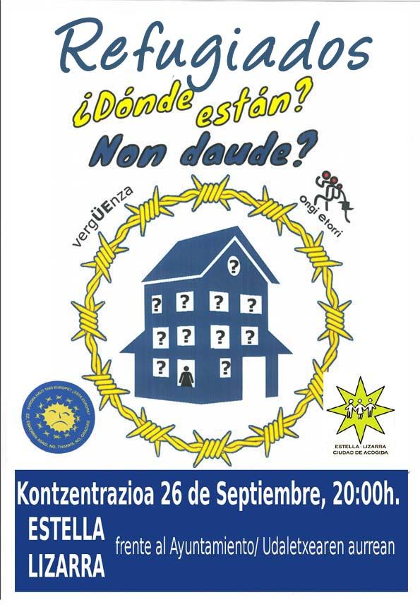 cartel concentración 26 d esept