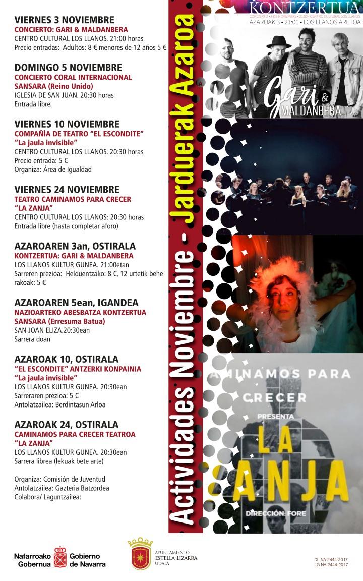 cartel noviembre