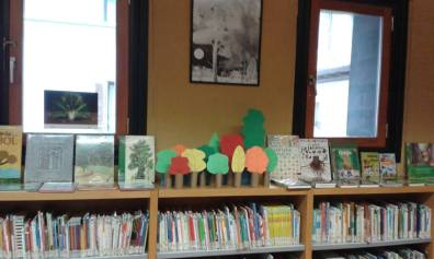 Árboles biblioteca infantil