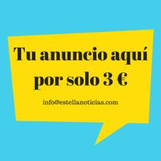 Tu anuncio aquí por 3 €