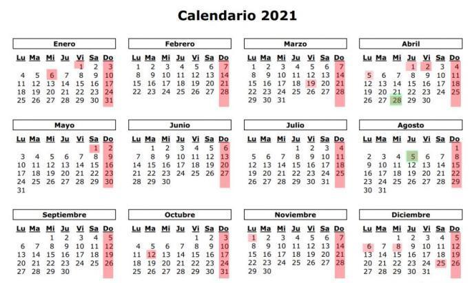 Navarra establece los días festivos del calendario laboral para